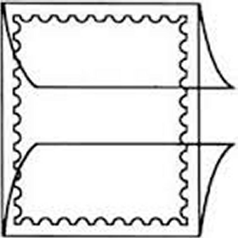 Prinz Scott Stamp Mount Size 74 / 240 mm CLEAR Background Pack of 10