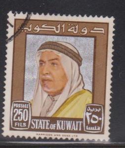 KUWAIT Scott # 242 Used - Sheik Abdullah