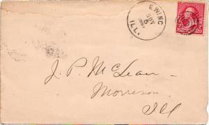 United States Illinois Ewing 1892 target.