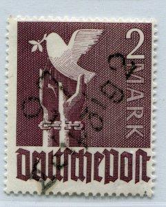 GERMANY SOVIET ZONE HOP BEZIRKSHANDSTEMPEL BEZIRK 27 II b V PERFECT MNH 022