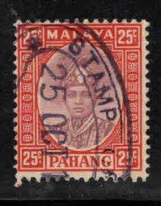 MALAYA-Pahang Scott 37 Used Horizontal crease