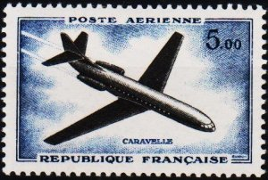 France. 1960 5f S.G.1459 Mounted Mint
