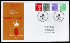 Great Britain Northern Ireland NIMH20,NIMH27,NIMH37,NIMH46 Typed FDC