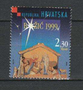 Croatia 1999 Christmas MNH stamp