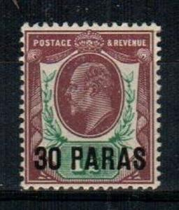 Great Britain Offices in Turkey Scott 26 Mint NH (Catalog Value $20.00)