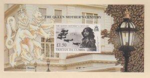 Tristan Da Cunha Scott #642 Stamps - Mint NH Souvenir Sheet