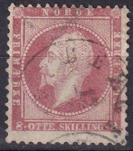 Norway #5  F-VF  Used CV $60.00 (Z6452)