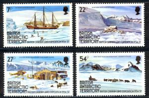 British Antarctic Territory Sc# 121-124 MNH 1985 British-Graham Land Expedition