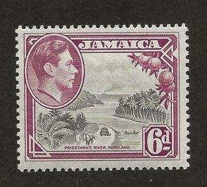 JAMAICA SC# 123  FVF/MNH