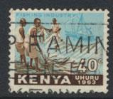 Kenya SG 6  Used Independence   see details