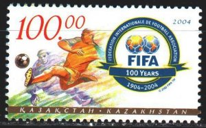 Kazakhstan. 2004. 469 from the series. 100 years of FIFA, football. MNH.