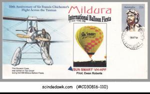 AUSTRALIA - 1998 MILDERA INTERNATIONAL BALOON FIESTA SPECIAL COVER WITH SPEICAL