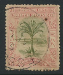 North Borneo  SG 96   Used   perf 13½     please see scan & details