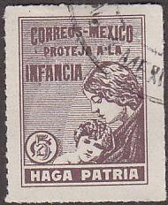 Mexico RA7 Postal Tax Stamp 1929