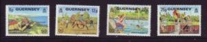 Guernsey Sc 232-5 1981 Disabled Year stamps mint NH
