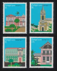 Azores Hospital Chapel Architecture of Sao Miguel 4v SG#549-552