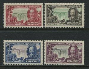Southern Rhodesia KGV 1935 Silver Jubilee set mint o.g. hinged