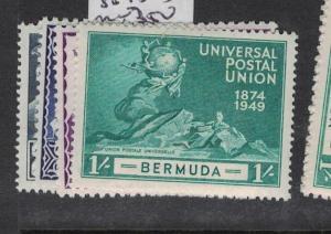 Bermuda UPU SG 130-3 MOG (2dsj)
