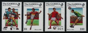 Gambia 615-8 MNH World Cup Soccer, Football