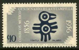 MEXICO 892, 10¢ Centenary of 1st postage stamps. UNUSED, H OG. VF.