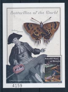 [34837] Micronesia 2000 Butterflies Schmetterlingen Papillons  MNH Sheet