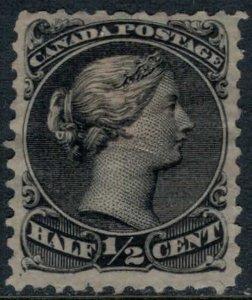 Canada #21* no gum  CV $110.00