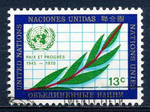 United Nations - New York #210 Single Used