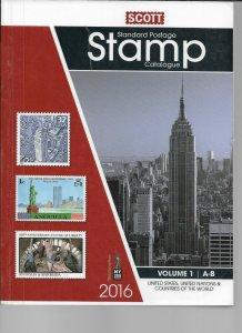 Scott 2016 Catalog Vol 1 US, UN Countries A-B  Previous Library Book