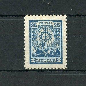 LITHUANIA SCOTT#207  MINT  HINGED --SCOTT VALUE $750.00