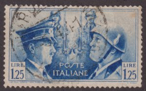 Italy 418 Adolf Hitler and  Mussolini 1941