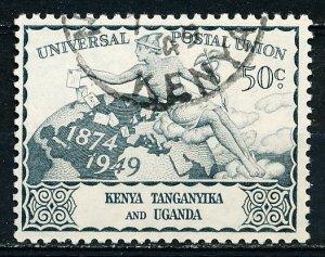 Kenya Uganda & Tanzania #96 Single Used