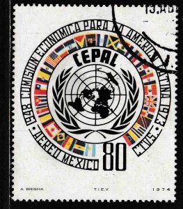 MEXICO C427, 25th Anniv Economic Comm for Latin America USED. F-VF. (1299)