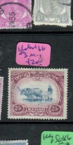 MALAYA KEDAH (PP2706B)  COW  25C  SG23   MOG