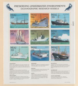 Palau Scott #436 Stamps - Mint NH Souvenir Sheet