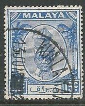 Malya - Perak || Scott # 112 - Used ©