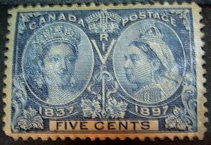 CANADA 54 FVF Mint Low Start
