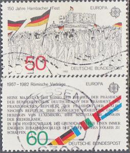 Germany #1372-1373 Used