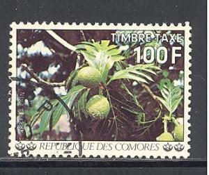 Comoro Islands Sc # J15 used (DT)