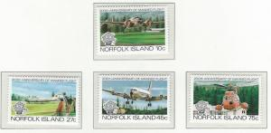 Norfolk Island    MNH  SC 310 - 313