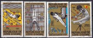 Ivory Coast #C66-9  F-VF Used CV $2.95 (Z4959)