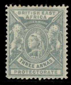 BRITISH EAST AFRICA QV SG69, 3a grey, M MINT. Cat £12.