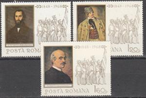 Romania #2027-9 MNH   (S7781L)