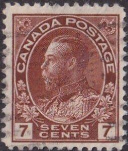Canada #114 Used