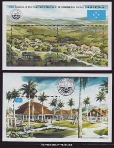 Micronesia Scott 132-133 Mint never hinged.