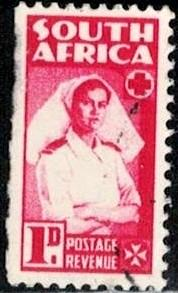 Nurse, South Africa stamp SC#91a used