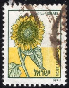 Israel 984 - Used - (30a) Sunflower (1988) (cv $1.15)