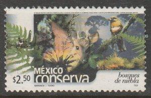 MEXICO CONSERVA 2365, $2.50P RAIN FORESTS. USED. VF. (1196)
