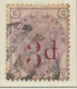 Great Britain Stamp Scott #94, Used, A Little Rough - Free U.S. Shipping, Fre...