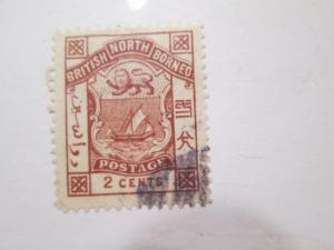 North Borneo #27 used