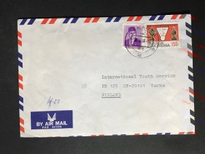 Indonesia #780//B242 Cover to Finland (1970-1999) Cover #6865